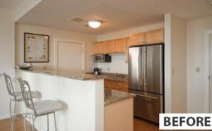 Portland condos kitchens